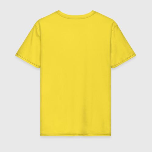 Мужская футболка с принтом Херня, вид сзади #1