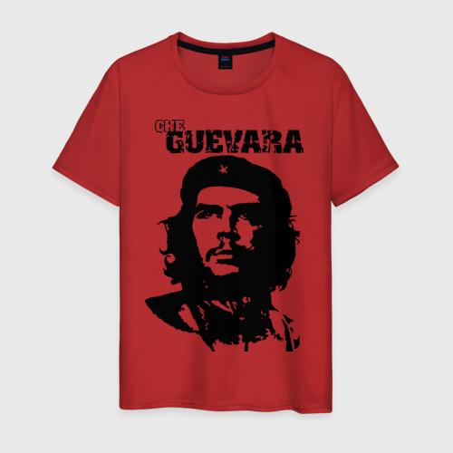 Мужская футболка с принтом Че гевара, вид спереди #2