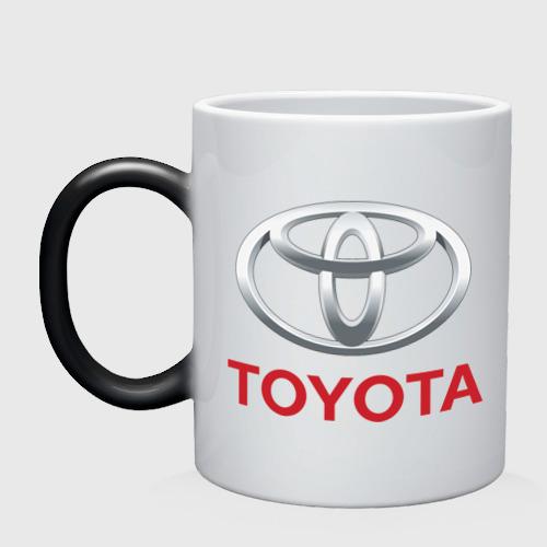 Кружка хамелеон Toyota