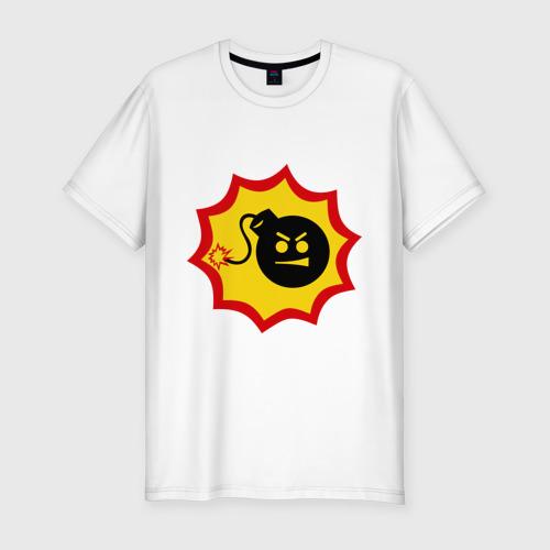 Мужская футболка премиум Крутой Сэм