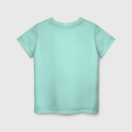 Детская футболка с принтом Не учите меня рокировке, вид сзади #1