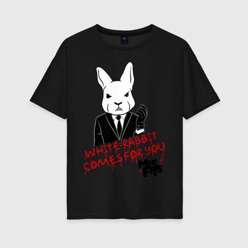Женская футболка oversize Rabbit misfits