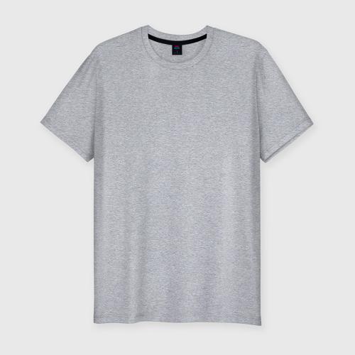 Мужская футболка премиум Не клюет, только пришел, буду