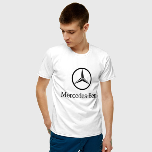 Мужская футболка Logo Mercedes-Benz