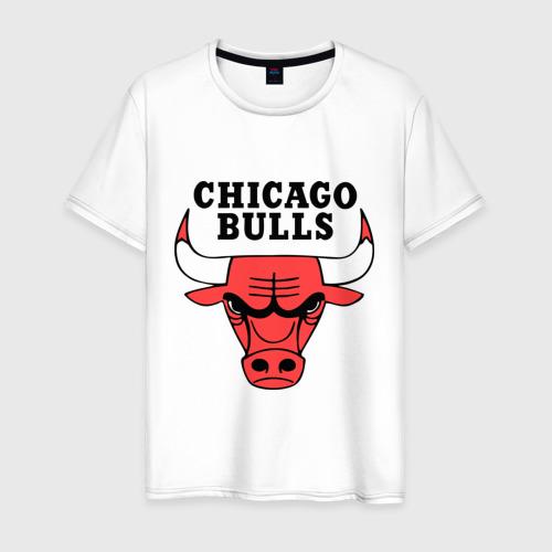 Мужская футболка Chicago bulls logo