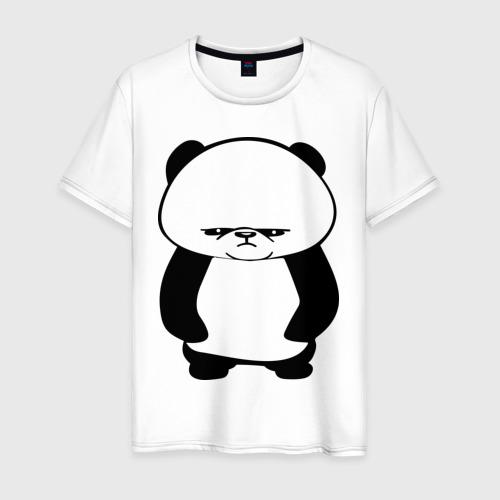Мужская футболка Серьезная панда