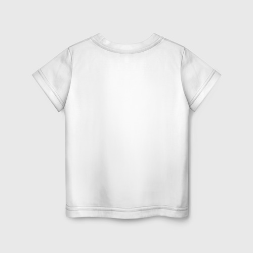 Детская футболка с принтом ACDC, вид сзади #1