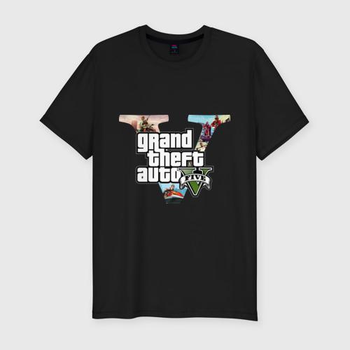 Мужская футболка премиум GTA 5