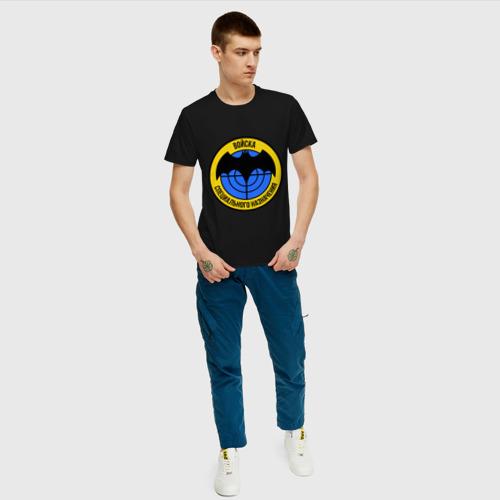 Мужская футболка с принтом Войска специального назначения (2), вид сбоку #3