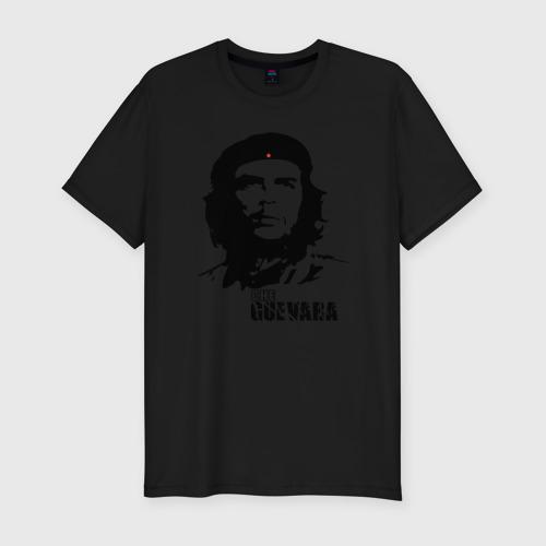 Мужская футболка премиум с принтом Эрнесто Че гевара, вид спереди #2