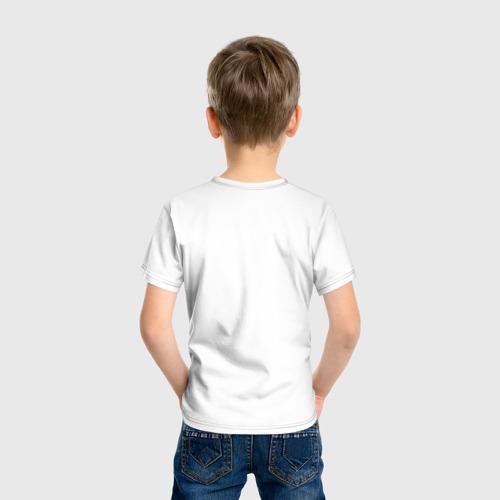 Детская футболка с принтом Minecraft, вид сзади #2