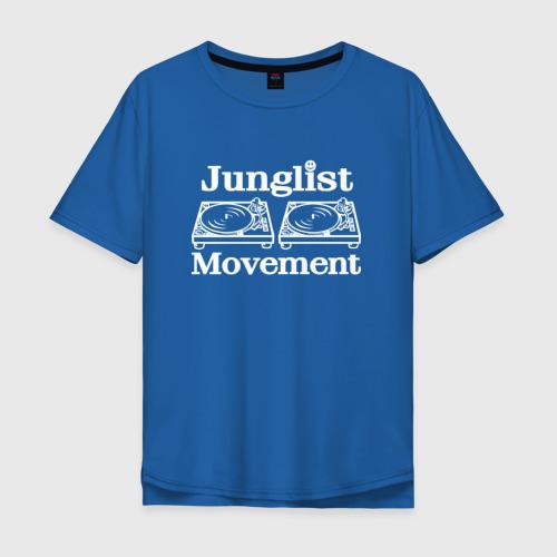 Футболка oversize Junglist Movement
