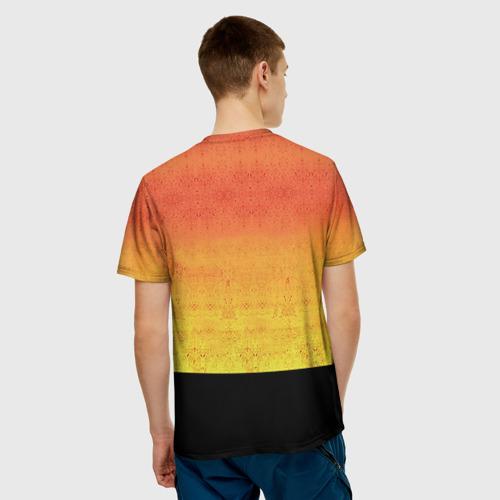 Мужская 3D футболка с принтом The Prodigy, вид сзади #2