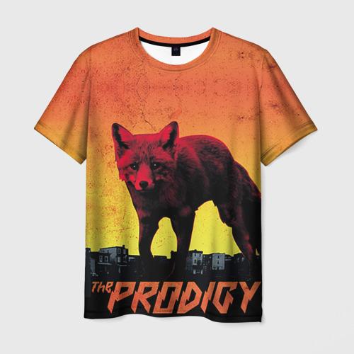 Мужская 3D футболка с принтом The Prodigy, вид спереди #2