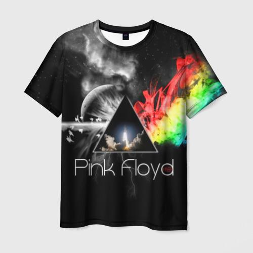 Мужская 3D футболка Pink Floyd