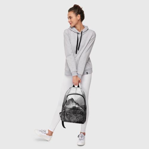 Рюкзак 3D с принтом Горы, фото #6