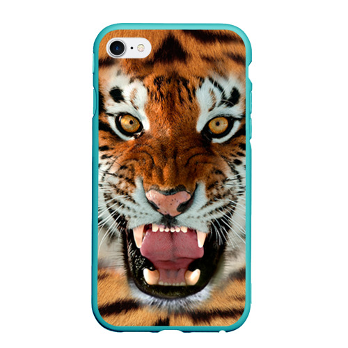 Чехол для iPhone 6/6S Plus матовый Тигр