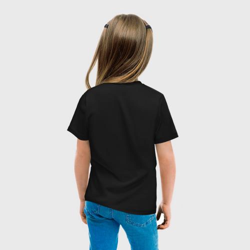 Детская футболка с принтом Five nights at Freddy's Foxy, вид сзади #2