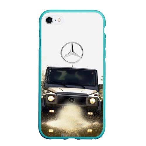 Чехол для iPhone 6/6S Plus матовый Mercedes
