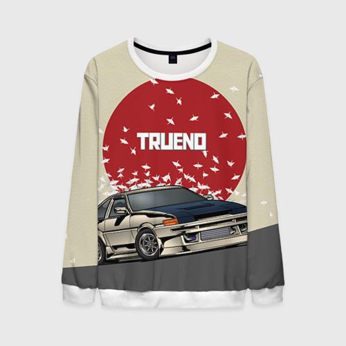 Мужской 3D свитшот Toyota Trueno ae86