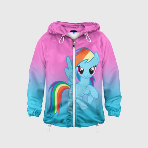 Детская 3D ветровка My Little Pony