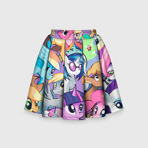 Детская юбка-солнце 3D My Little Pony