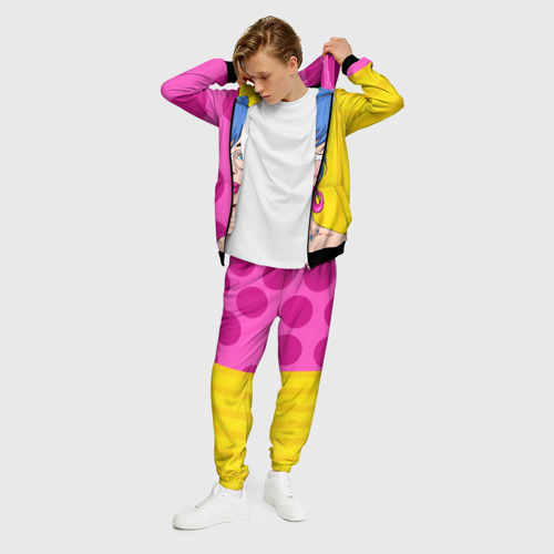 Мужской 3D костюм с принтом POP ART, фото на моделе #1