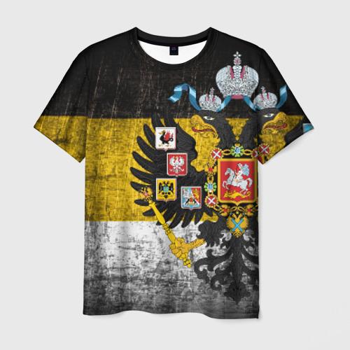 Мужская 3D футболка Имперский флаг