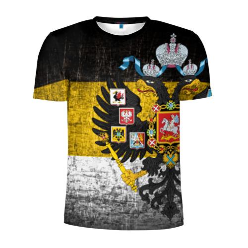 Мужская футболка 3D спортивная Имперский флаг