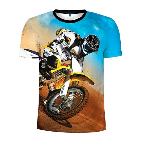 Мужская футболка 3D спортивная Эндуро