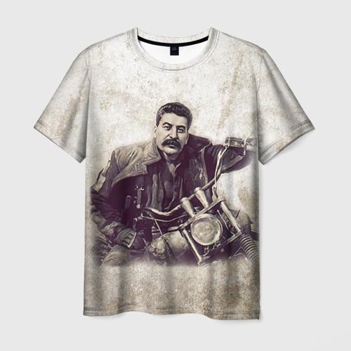 Мужская 3D футболка Сталин 2