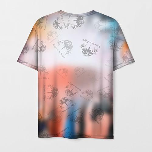 Мужская 3D футболка с принтом Король и Шут, вид сзади #1