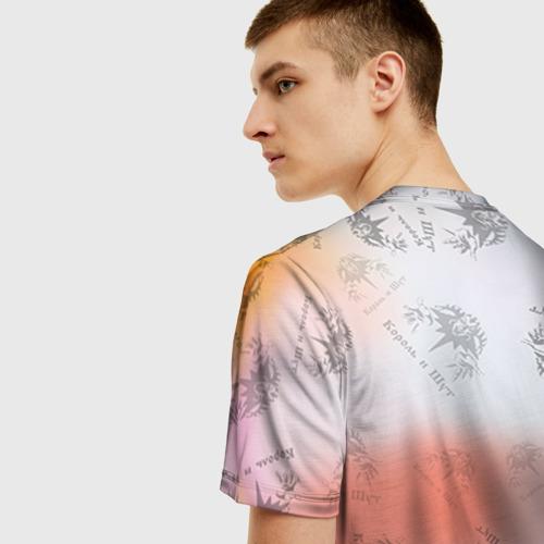 Мужская 3D футболка с принтом Король и Шут, вид сзади #2