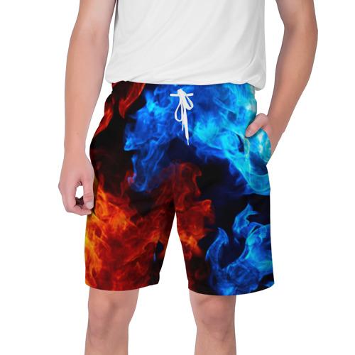 Мужские шорты 3D Битва огней