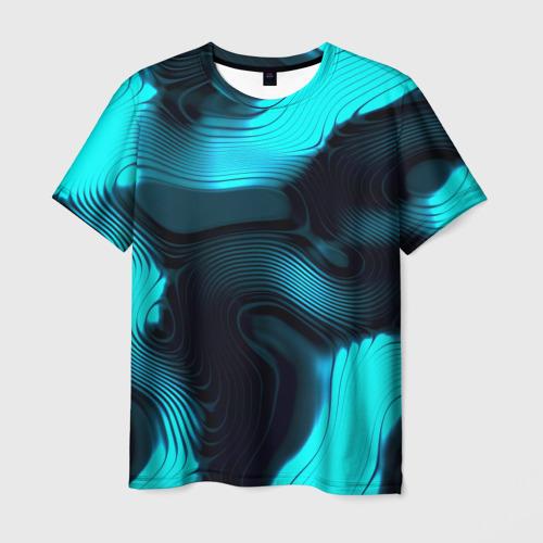 Мужская 3D футболка Lullaby