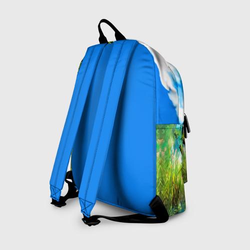 Рюкзак 3D с принтом Тоторо и компания, вид сзади #1