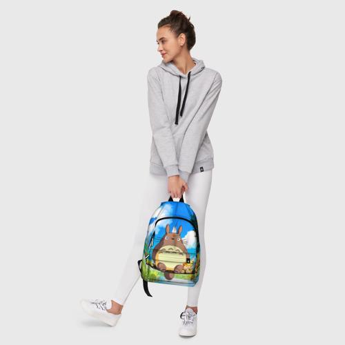 Рюкзак 3D с принтом Тоторо и компания, фото #6