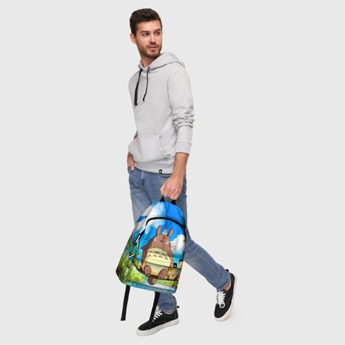 Рюкзак 3D с принтом Тоторо и компания, фото #5