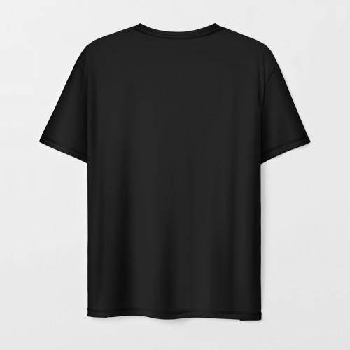 Мужская 3D футболка с принтом Motorhead, вид сзади #1