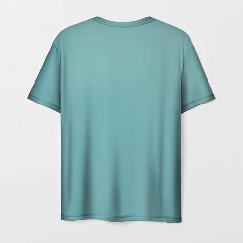 Мужская 3D футболка с принтом Iron maiden 5, вид сзади #1