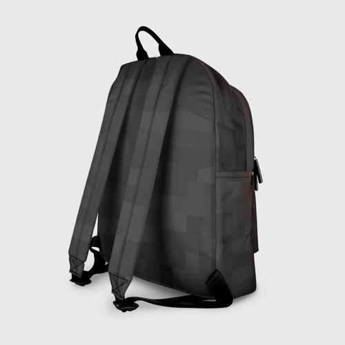 Рюкзак 3D с принтом Редстоун, вид сзади #1
