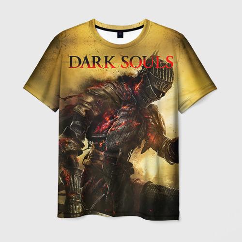 Мужская 3D футболка Dark Souls 14