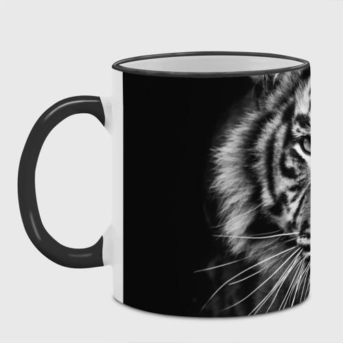 Кружка с полной запечаткой с принтом Красавец тигр, фото #4