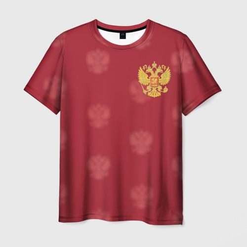 Мужская 3D футболка Сборная России по футболу