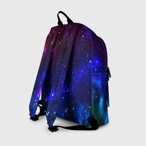 Рюкзак 3D с принтом Звёзды, вид сзади #1