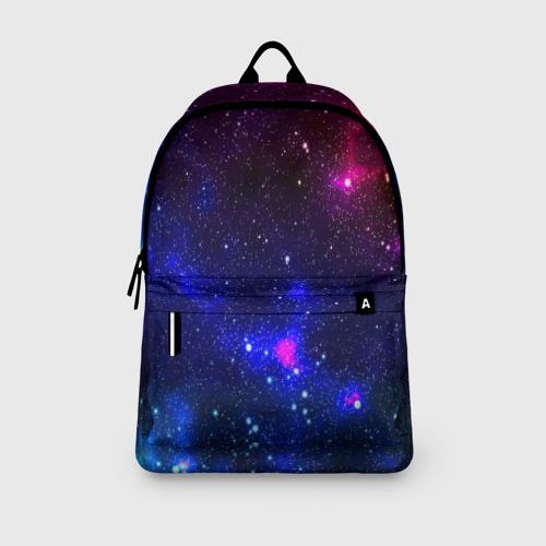 Рюкзак 3D с принтом Звёзды, вид сбоку #3