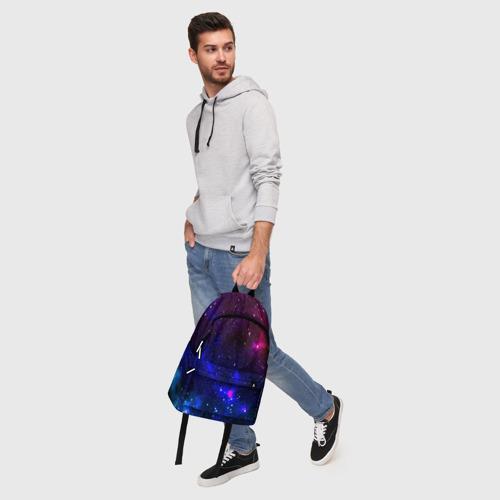 Рюкзак 3D с принтом Звёзды, фото #5