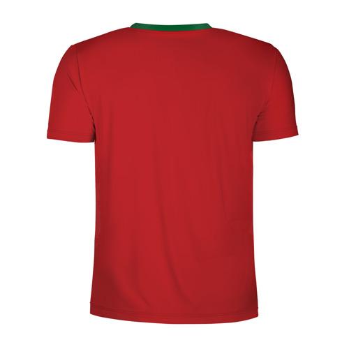 Мужская футболка 3D спортивная с принтом Волейбол 34, вид сзади #1