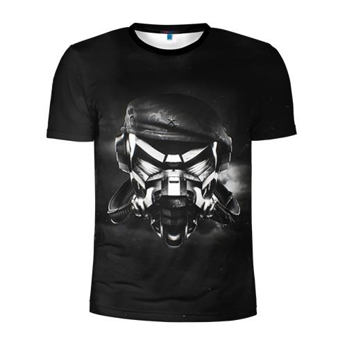 Мужская футболка 3D спортивная с принтом Пиратская станция 6, вид спереди #2