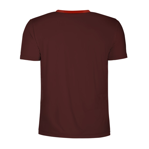 Мужская футболка 3D спортивная с принтом День мертвецов, вид сзади #1